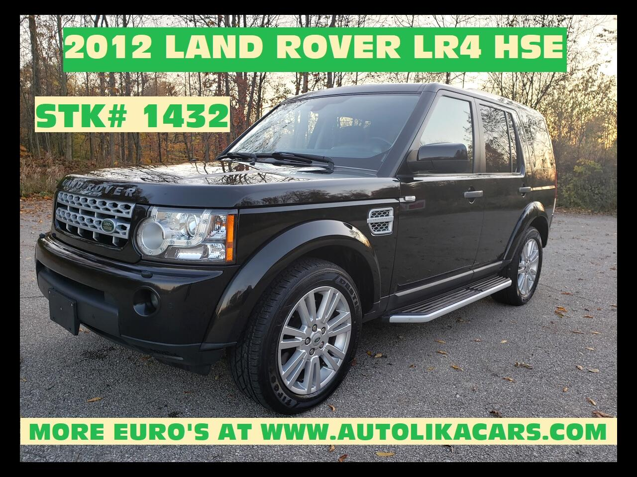 Land Rover LR4 4WD 4dr HSE 2012