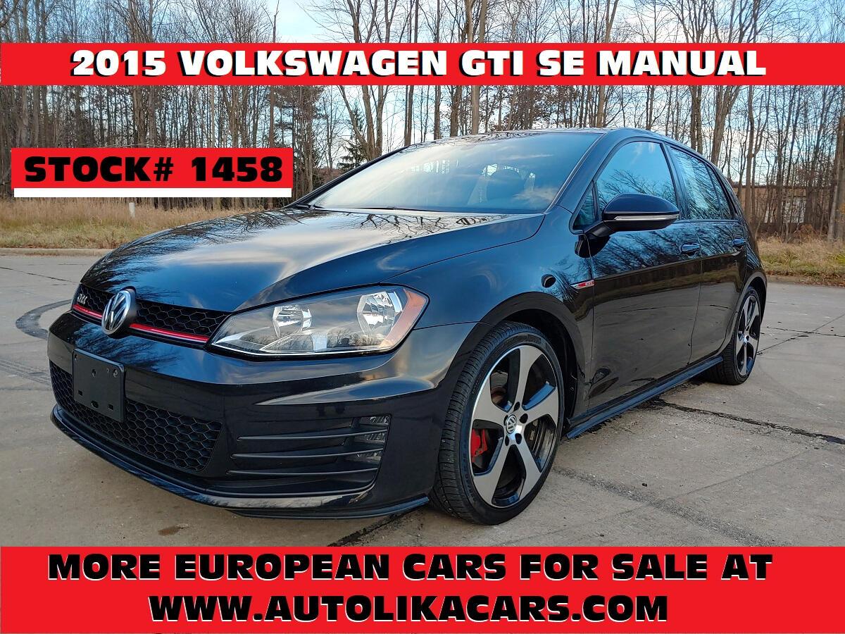 Volkswagen Golf GTI 4dr HB Man SE 2015