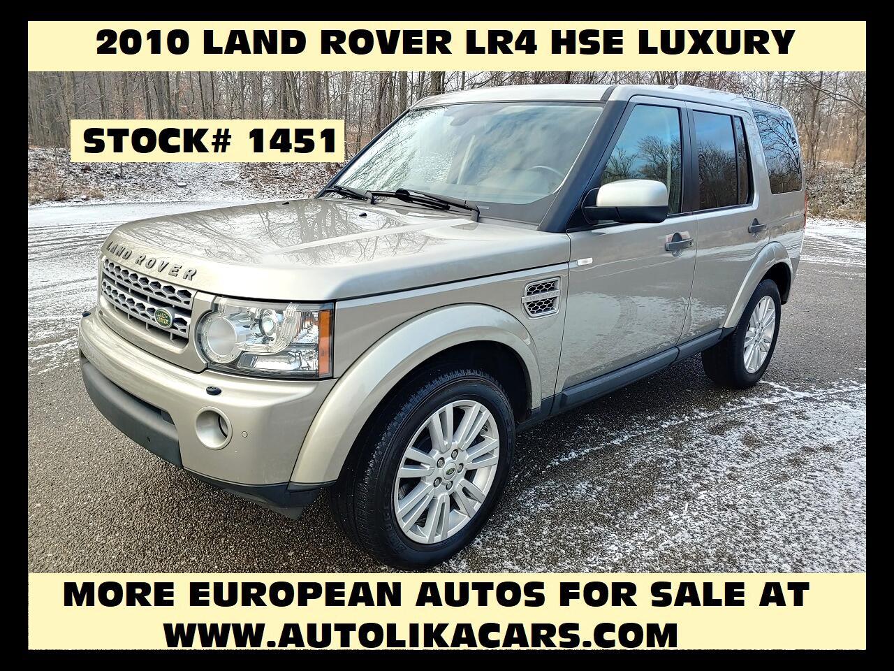 Land Rover LR4 4WD 4dr V8 LUX 2010