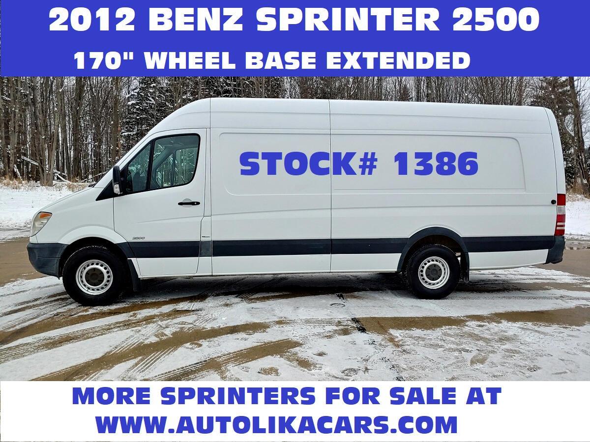 "Mercedes-Benz Sprinter Cargo Vans 2500 170"" EXT 2012"