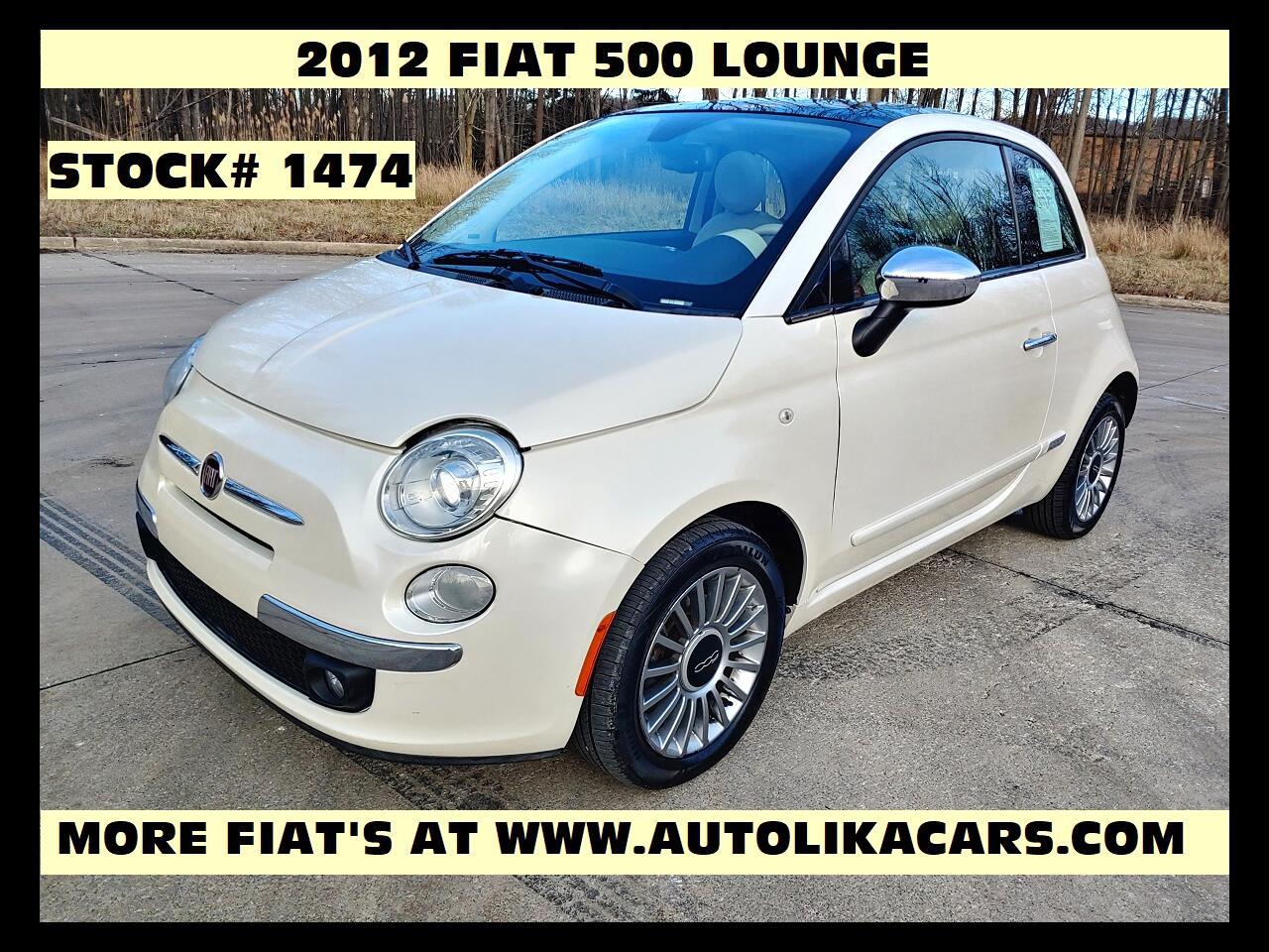 Fiat 500 2dr HB Lounge 2012