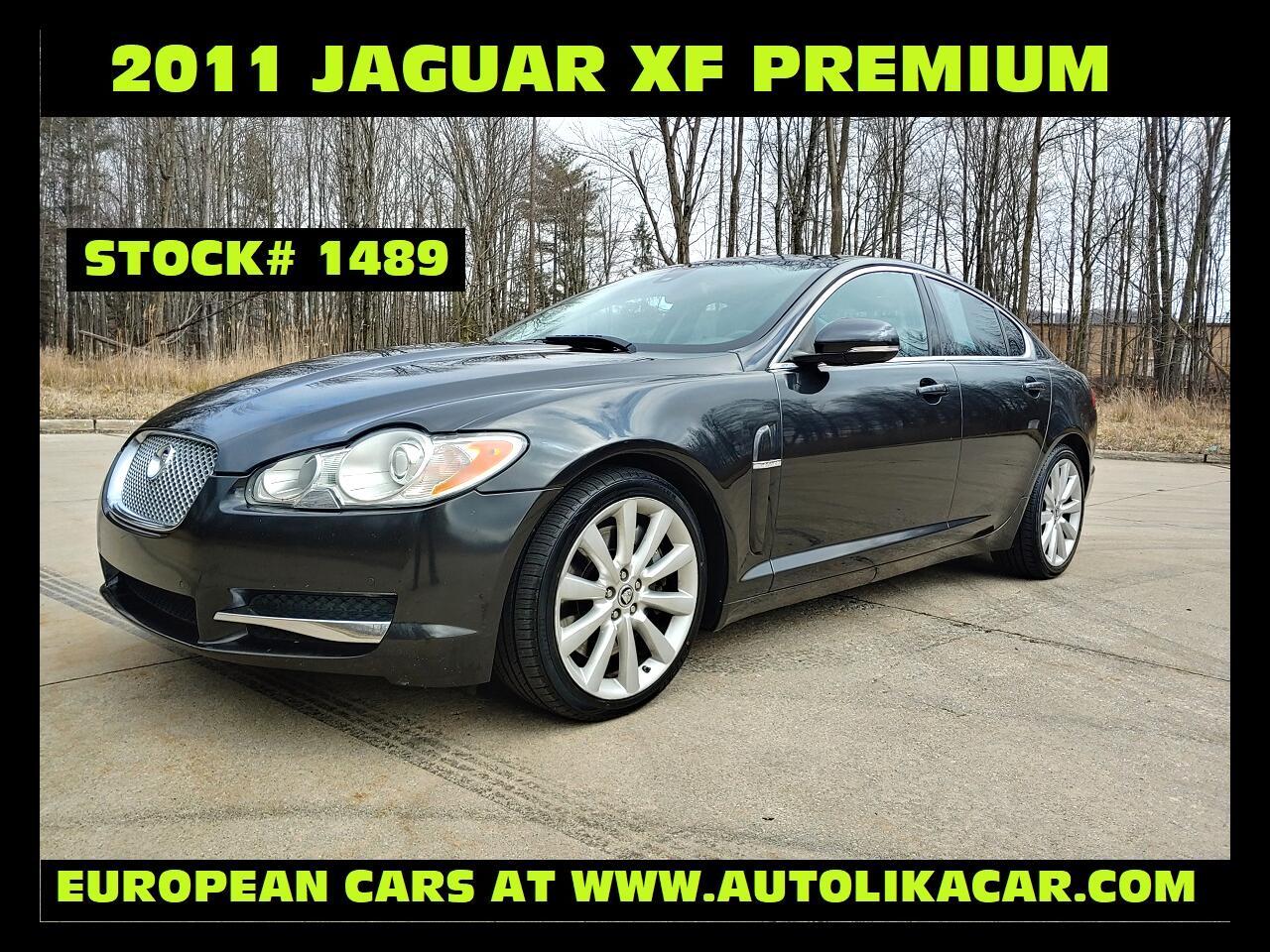 Jaguar XF 4dr Sdn Portfolio 2011