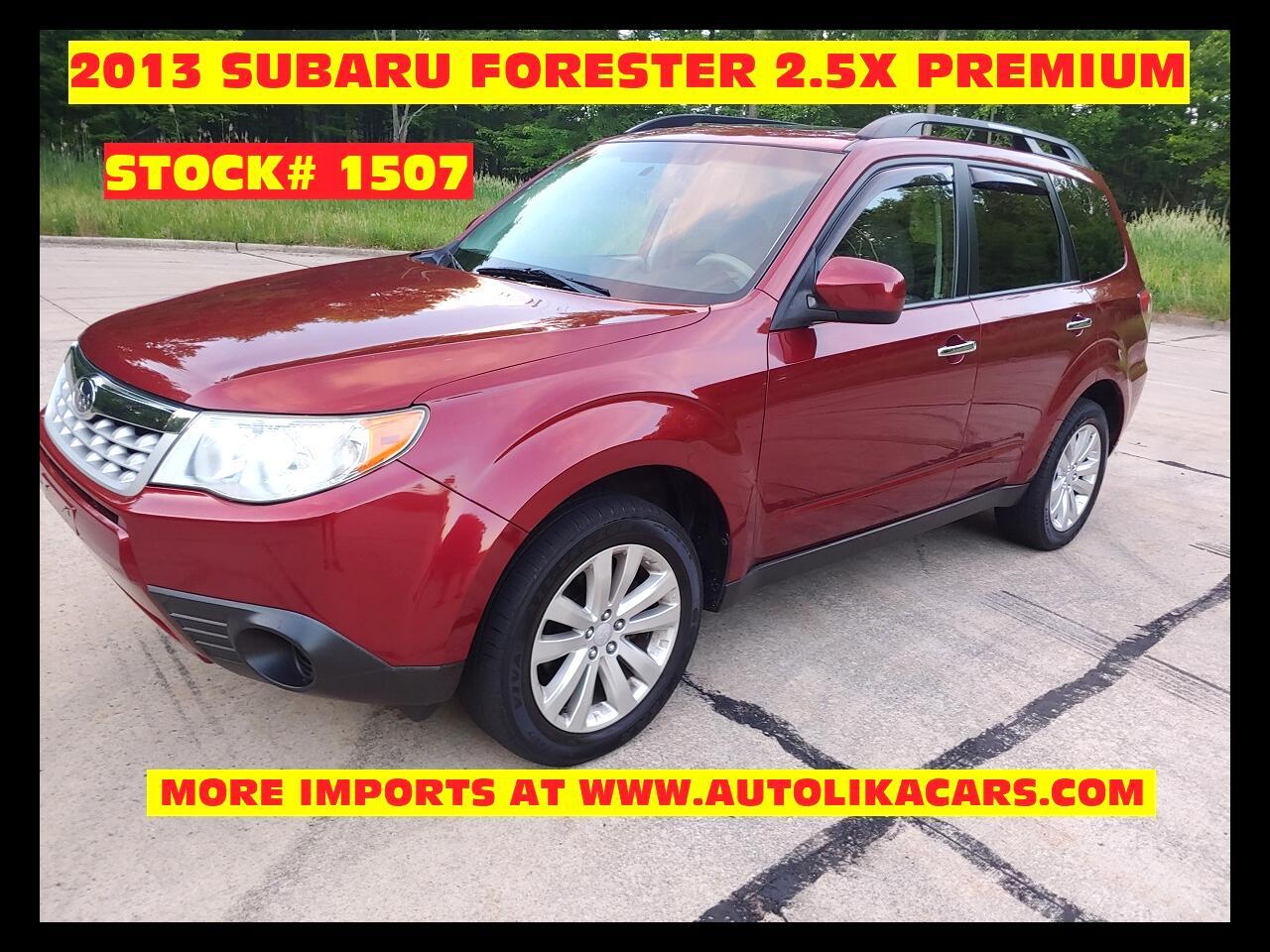 Subaru Forester 4dr Auto 2.5X Premium 2013