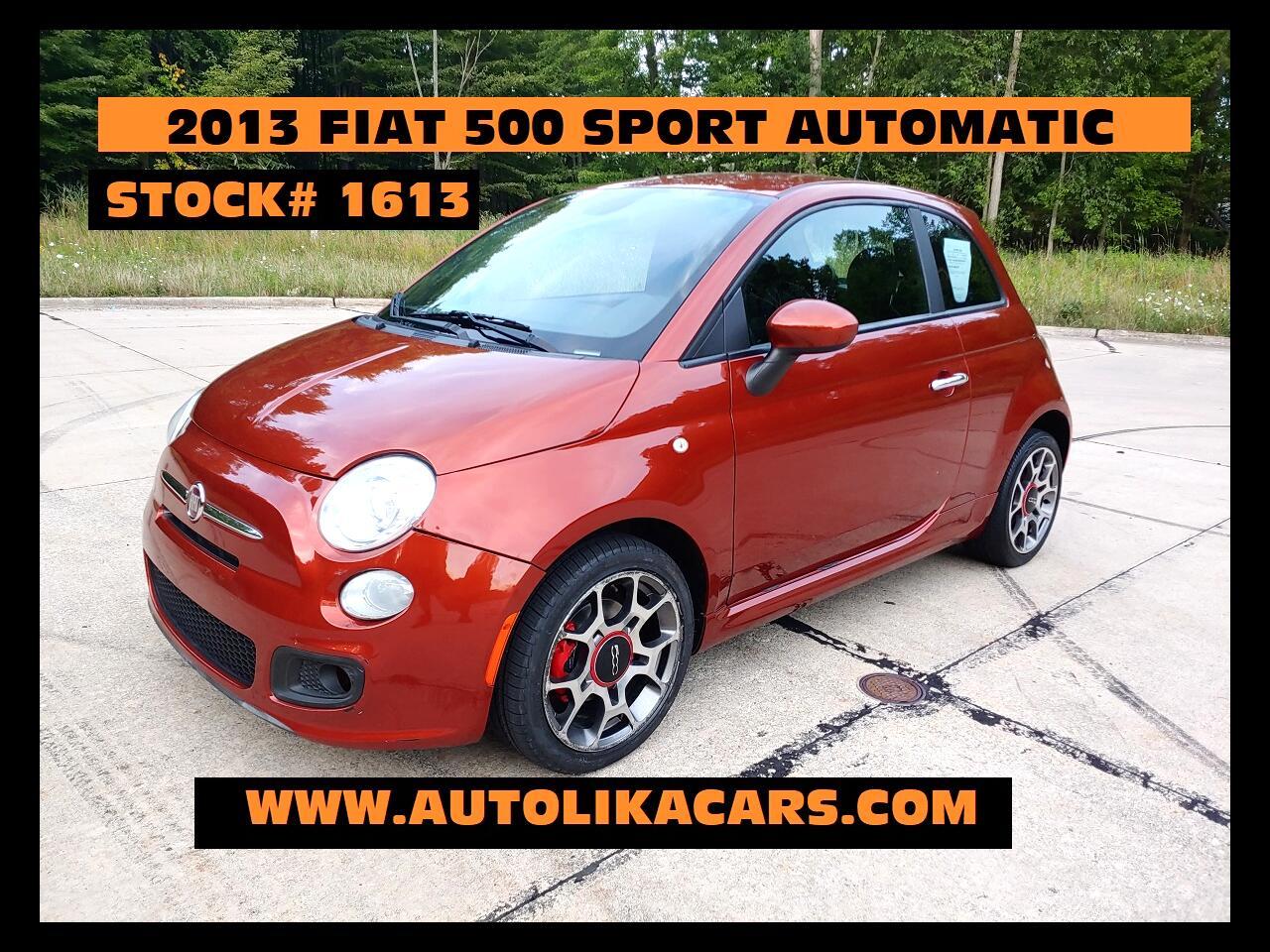 Fiat 500 2dr HB Sport 2013