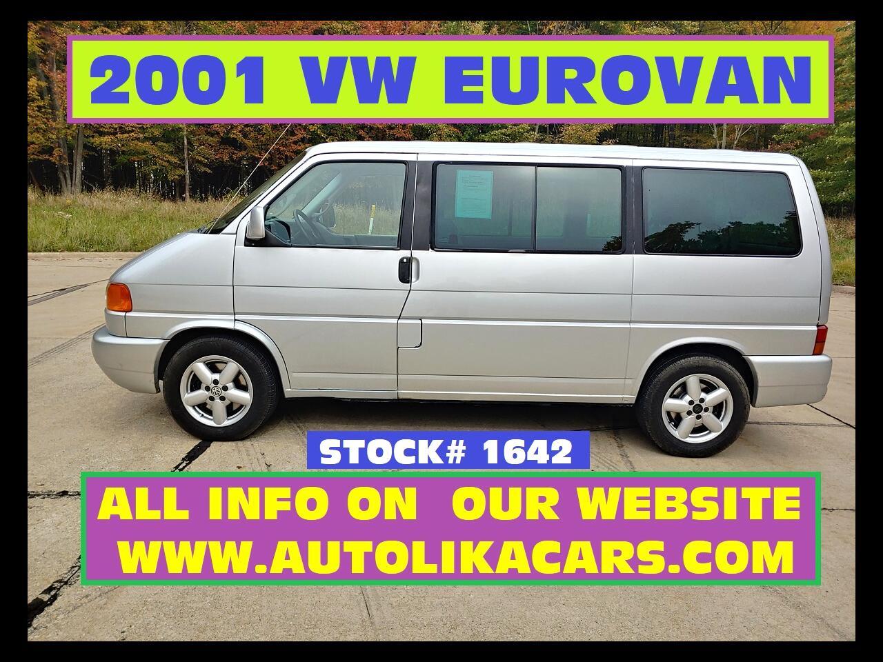 Volkswagen EuroVan 3dr MV 2001