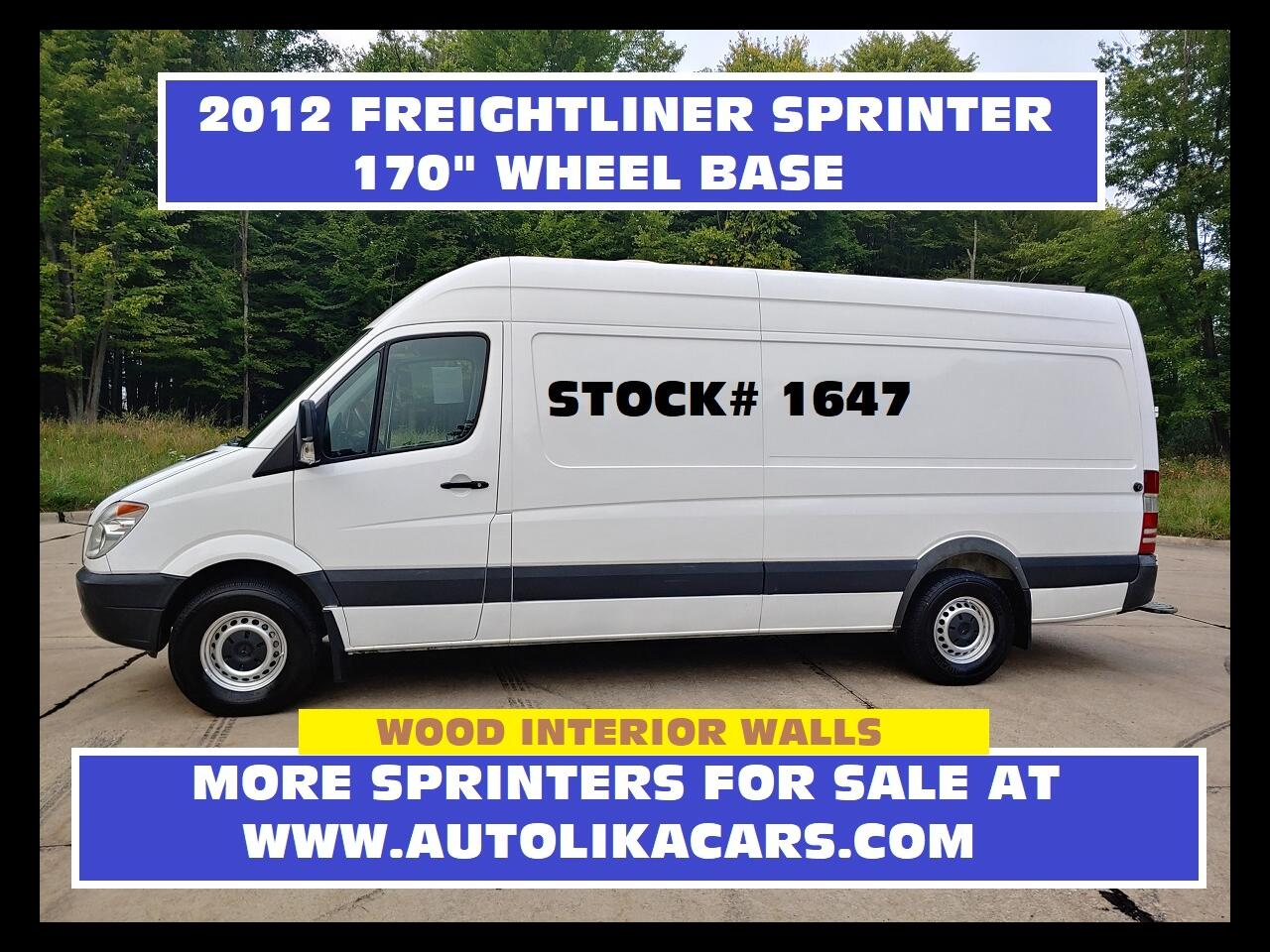 Freightliner Sprinter 2500  2012