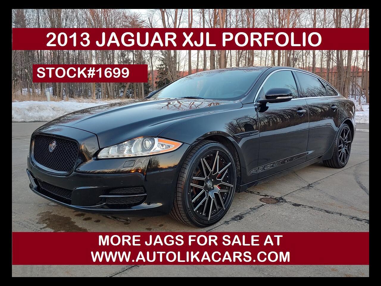 Jaguar XJ 4dr Sdn XJL Portfolio AWD 2013