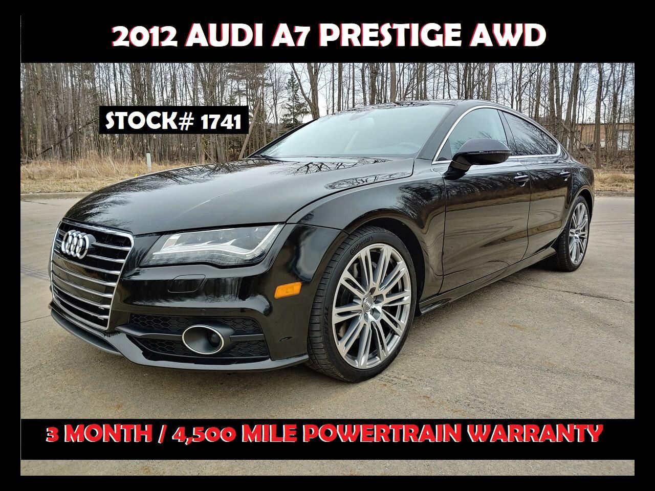 Audi A7 4dr HB quattro 3.0 Prestige 2012