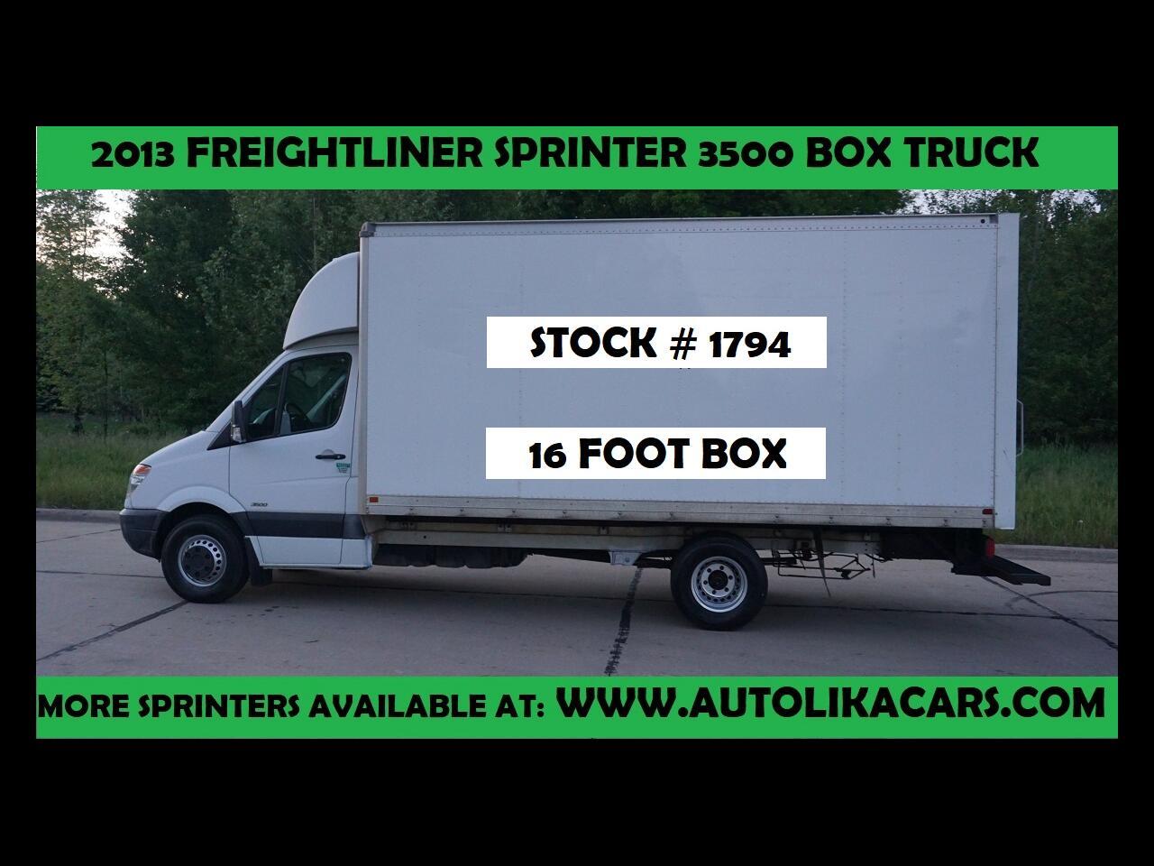 Freightliner Sprinter 3500  2013
