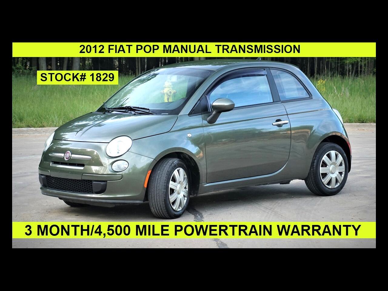 Fiat 500 2dr HB Pop 2012