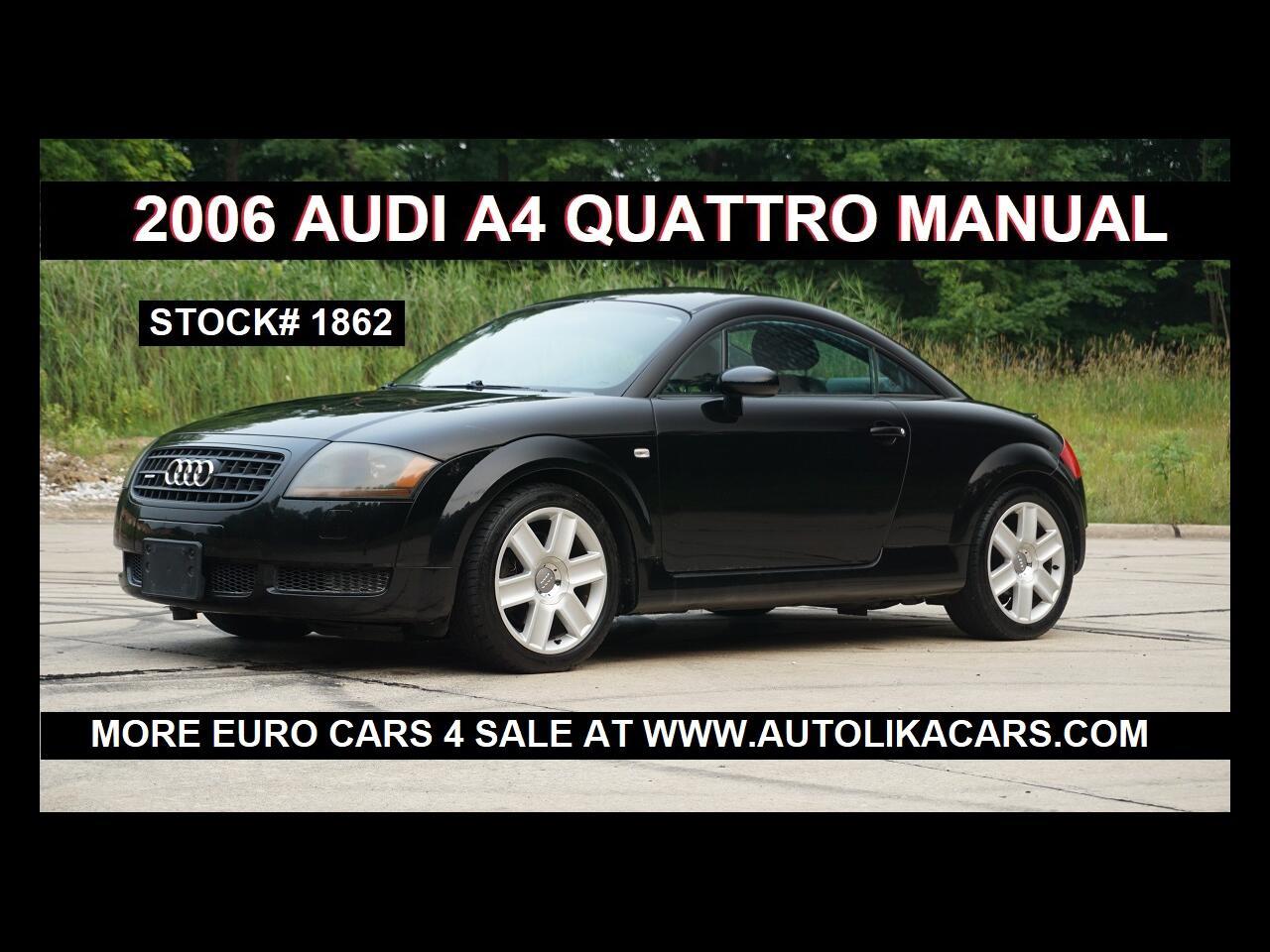Audi TT 2dr Cpe quattro Manual 2006