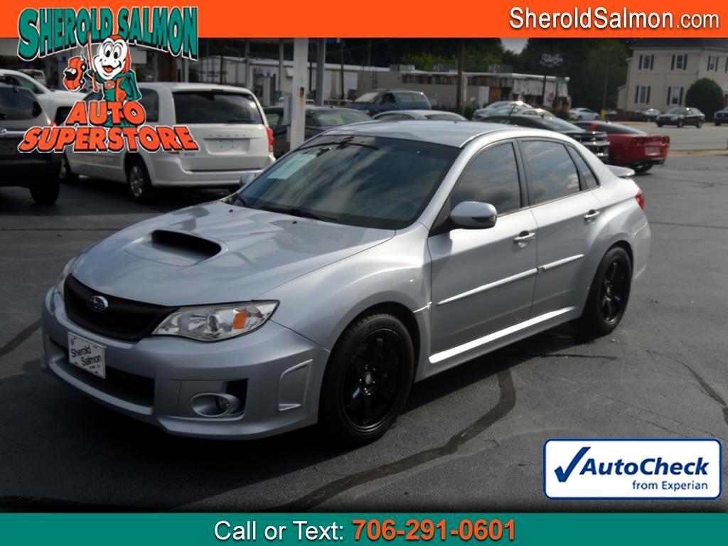 2013 Subaru Impreza Sedan WRX 4dr Man WRX STI