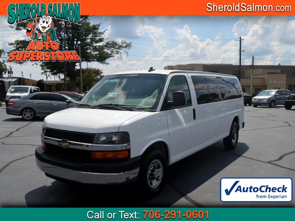 "2016 Chevrolet Express Passenger RWD 3500 155"" LT w/1LT"