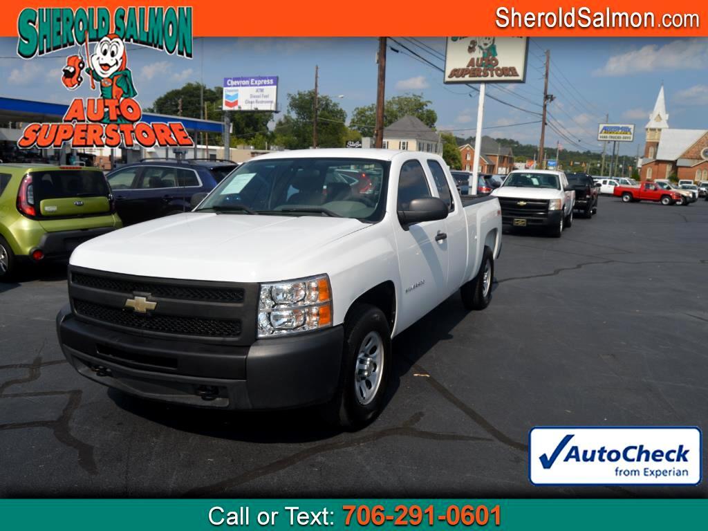 """2011 Chevrolet Silverado 1500 4WD Ext Cab 134.0"""" Work Truck"""
