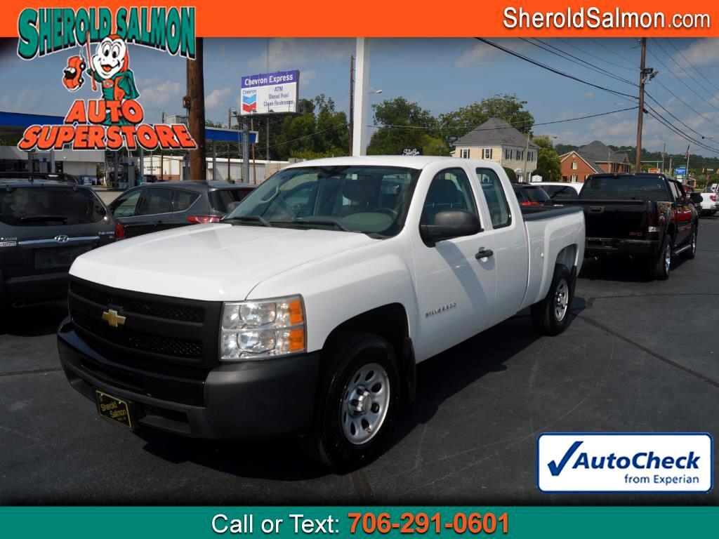 """2010 Chevrolet Silverado 1500 2WD Ext Cab 143.5"""" Work Truck"""