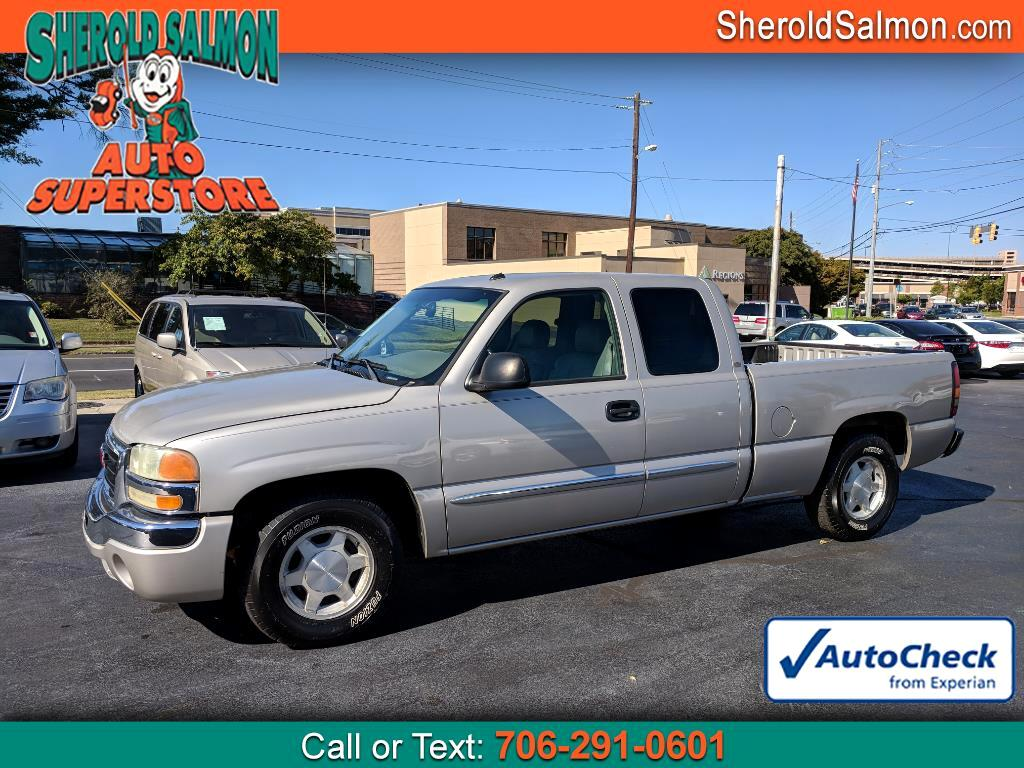 """2004 GMC Sierra 1500 Ext Cab 143.5"""" WB SLT"""