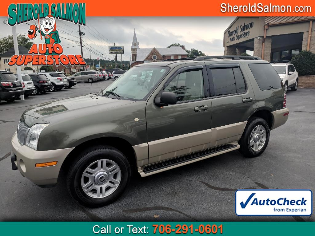 "2004 Mercury Mountaineer 4dr 114"" WB Luxury w/4.6L AWD"