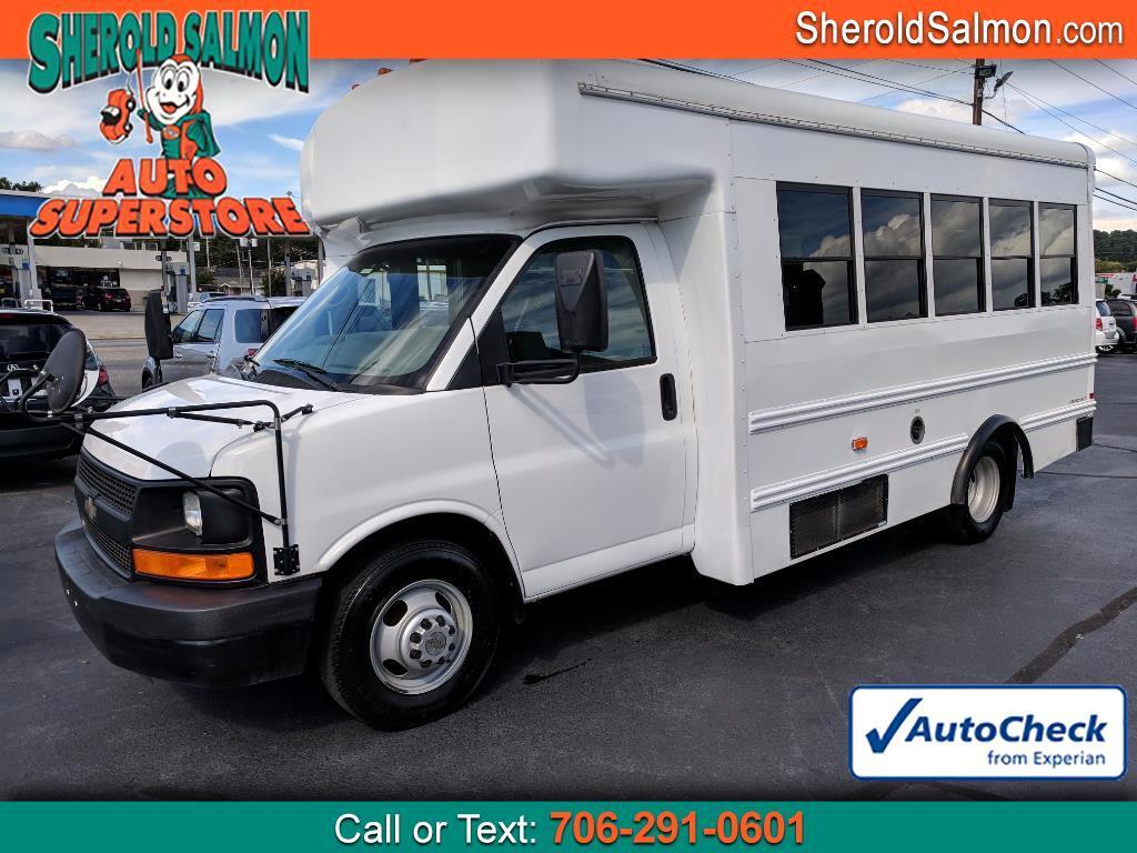 "2009 Chevrolet Express Commercial Cutaway RWD 3500 177"" WB Work Van"