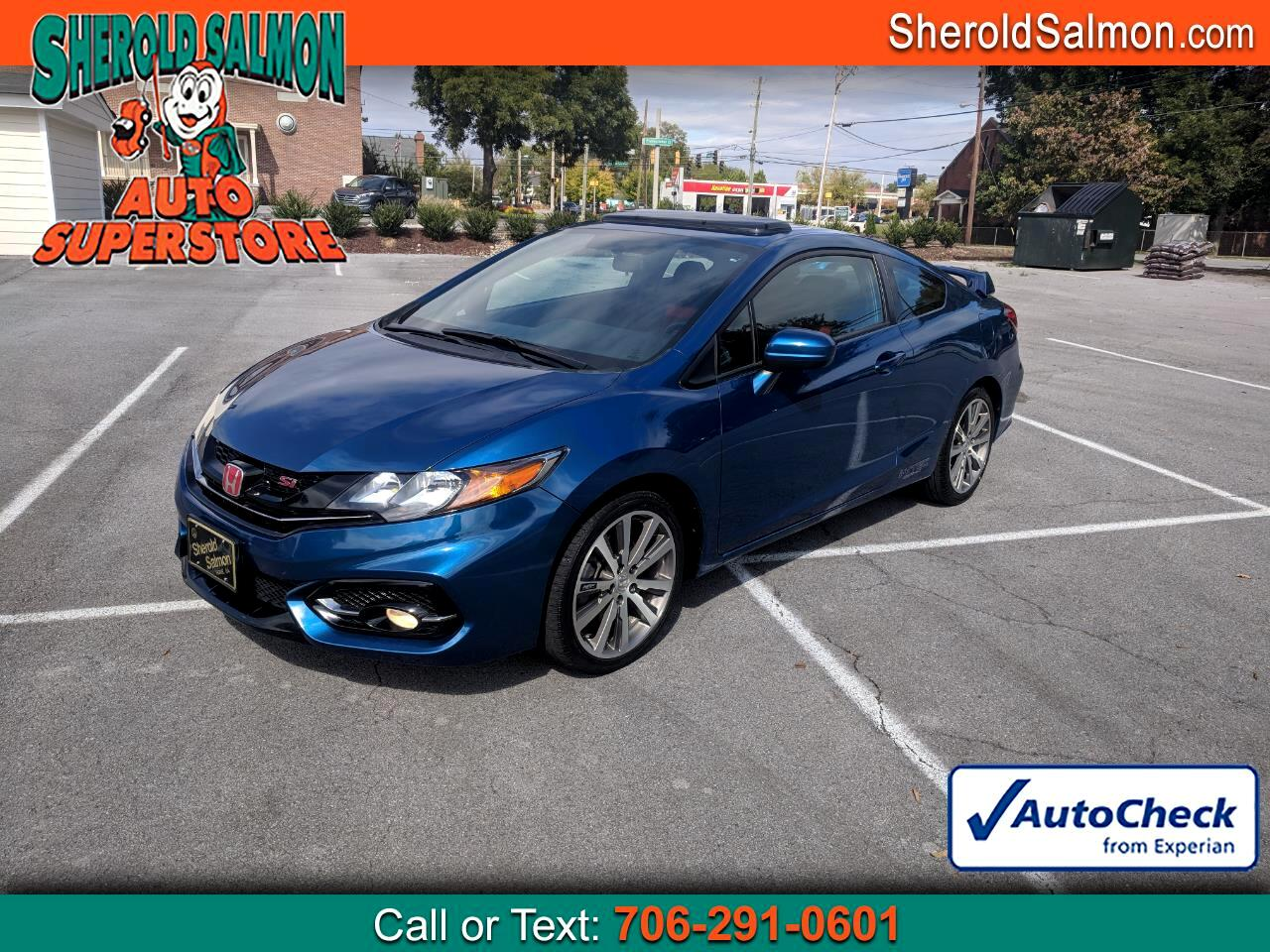 2014 Honda Civic Coupe 2dr Man Si