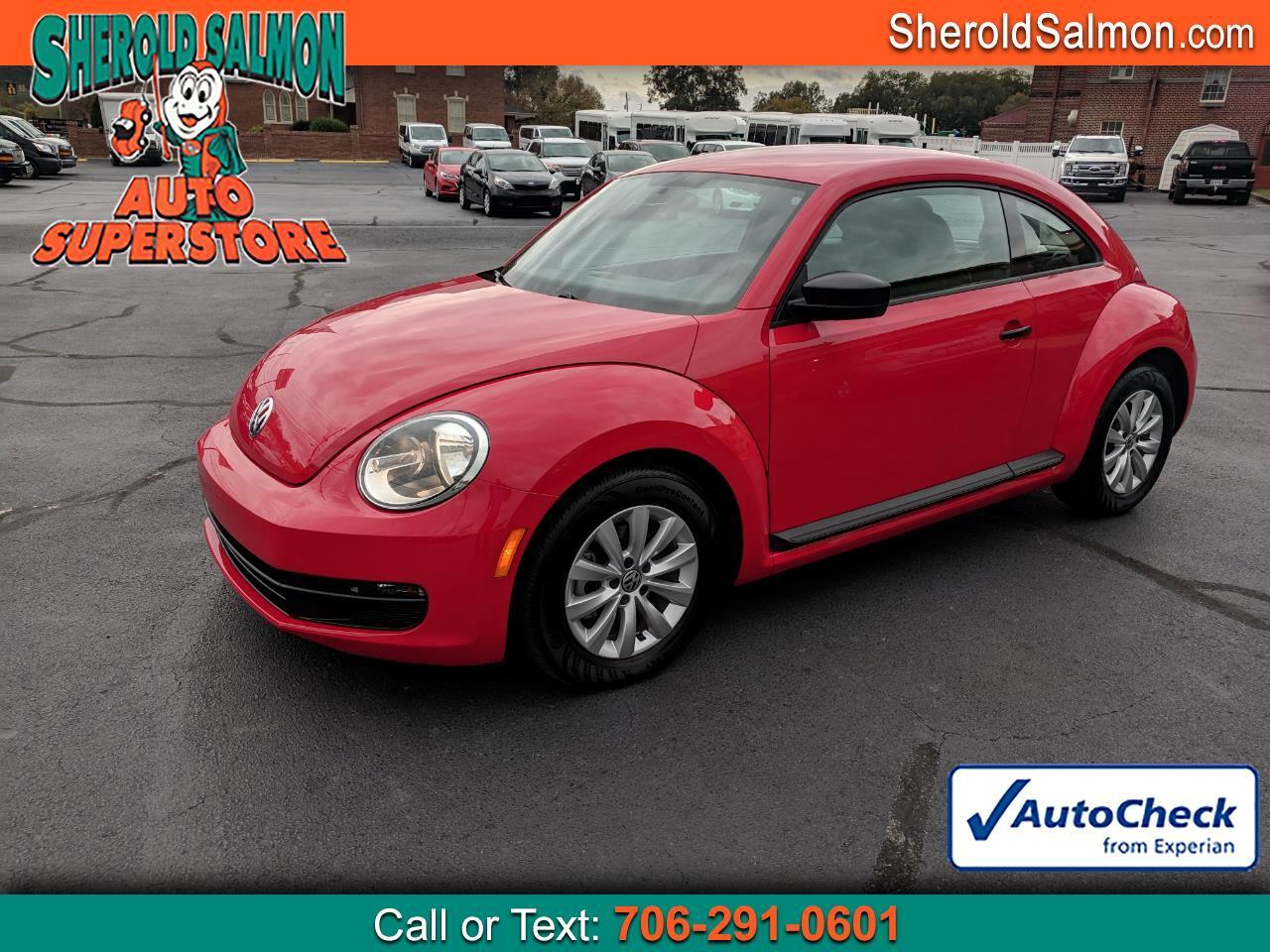 2014 Volkswagen Beetle Coupe 2dr Auto 2.5L Entry PZEV *Ltd Avail*