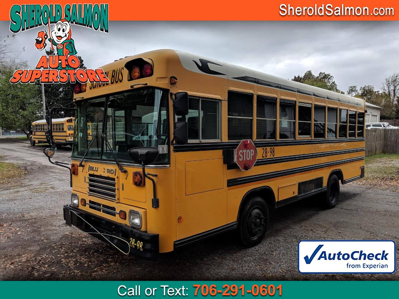 1999 Blue Bird School/Transit Bus
