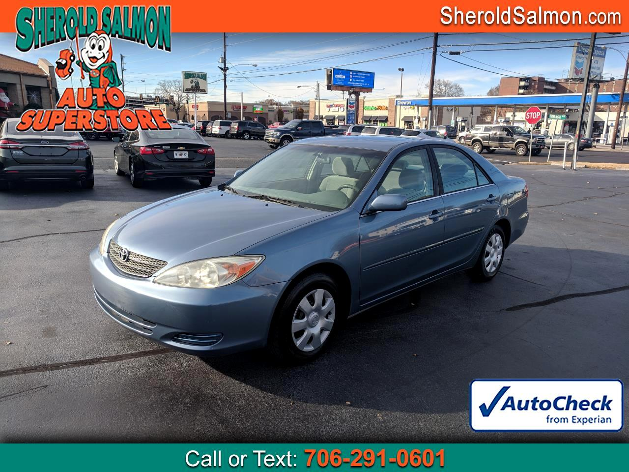 2003 Toyota Camry 4dr Sdn LE Auto (Natl)