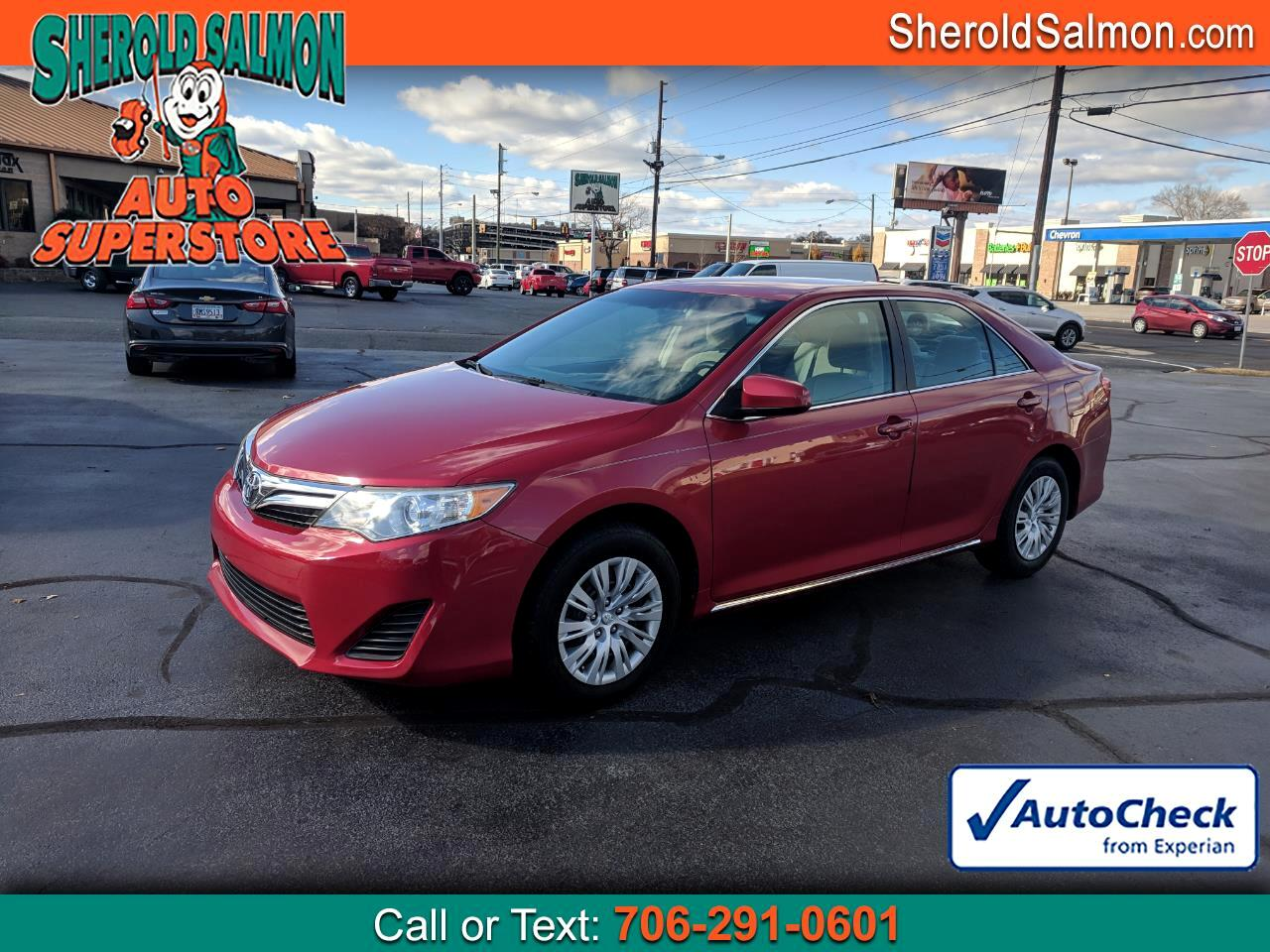 2013 Toyota Camry 4dr Sdn I4 Auto LE (Natl)