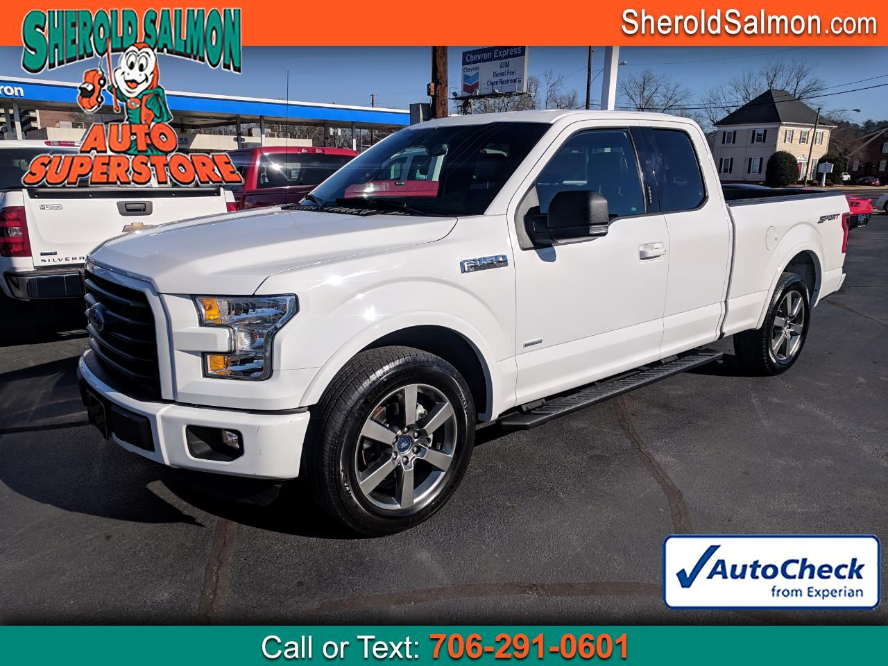 "2016 Ford F-150 2WD SuperCab 145"" XLT"