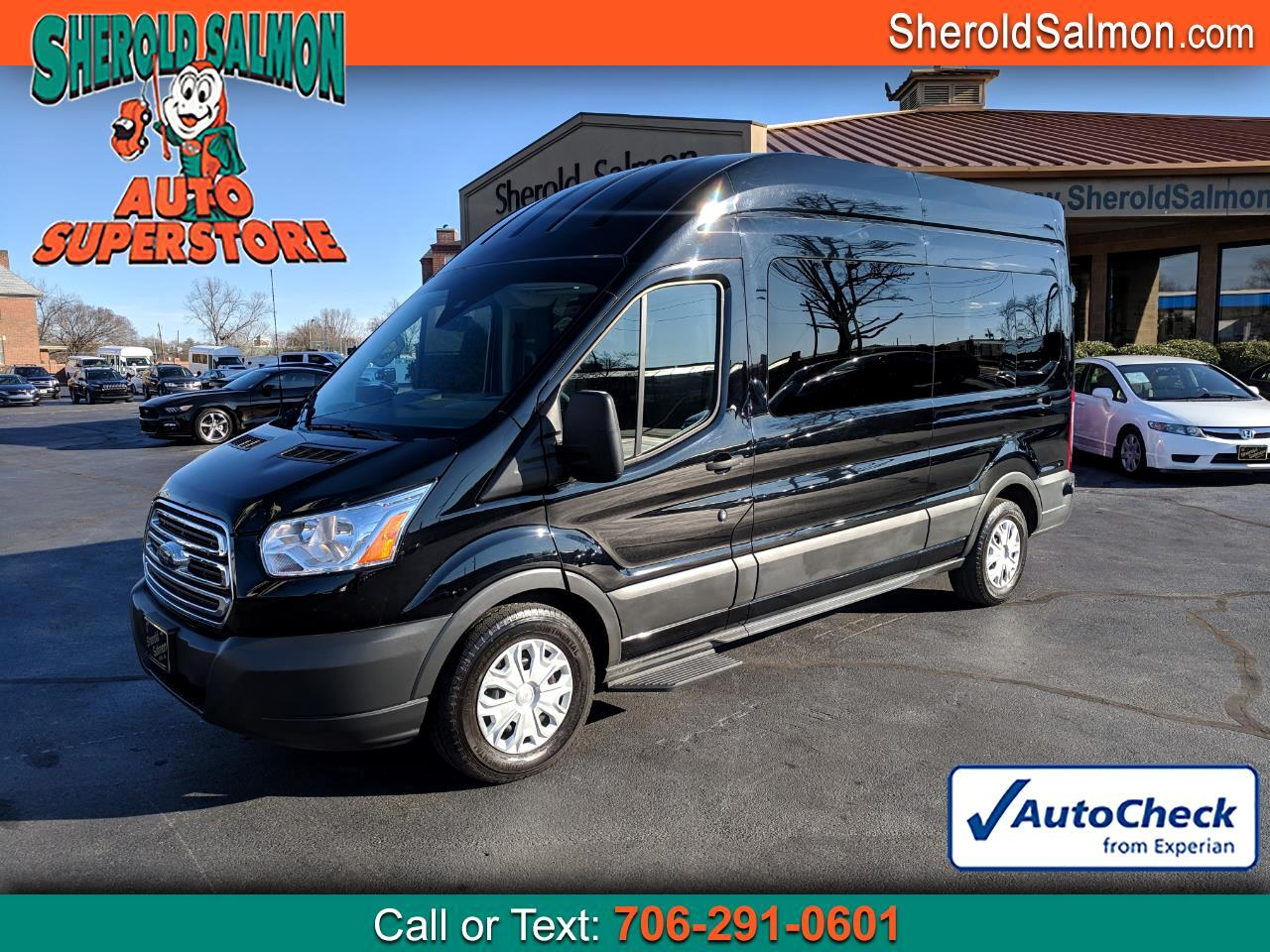 "2018 Ford Transit Passenger Wagon T-350 148"" High Roof XLT Sliding RH Dr"