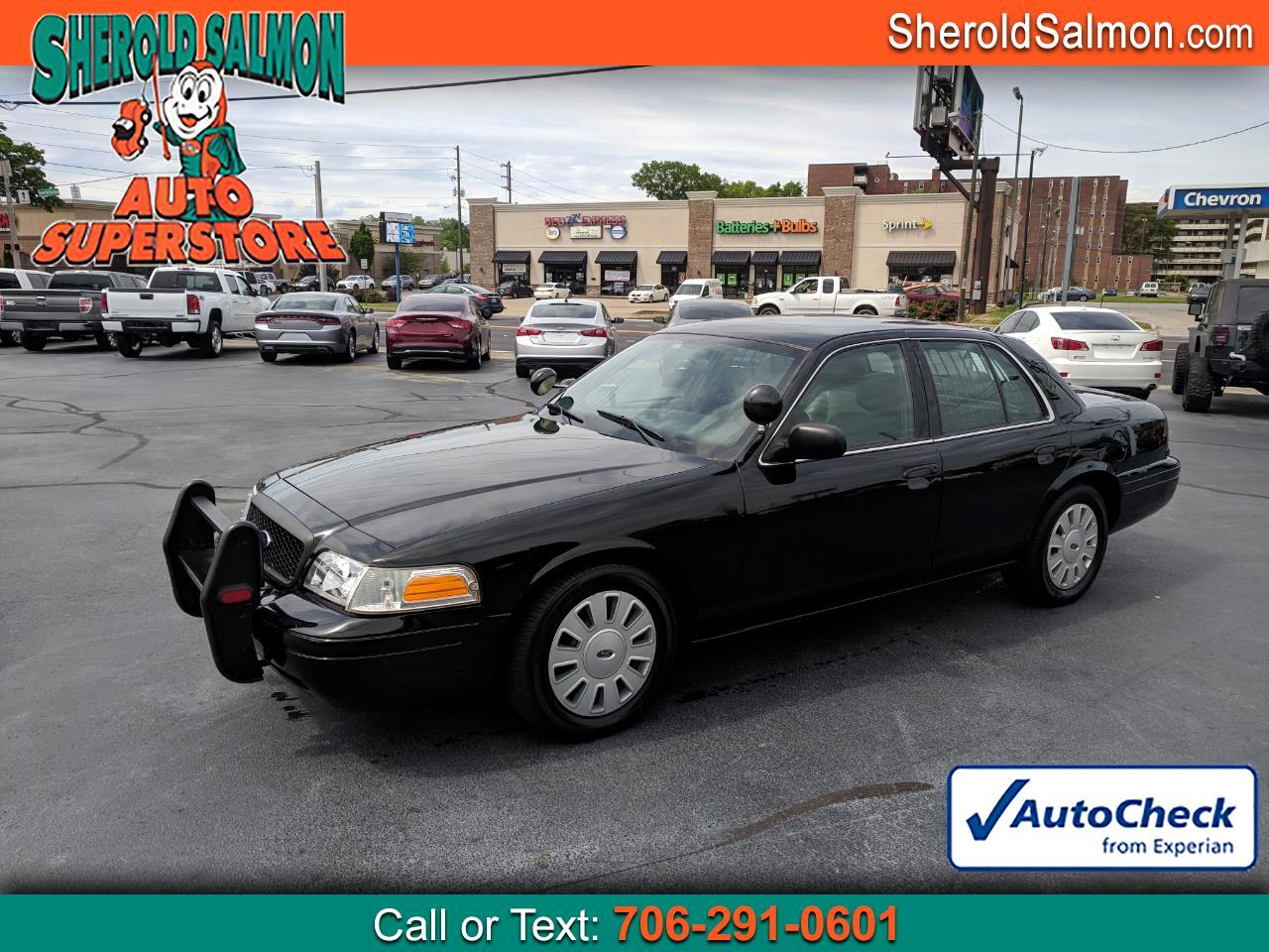 2010 Ford Police Interceptor 4dr Sdn w/3.27 Axle