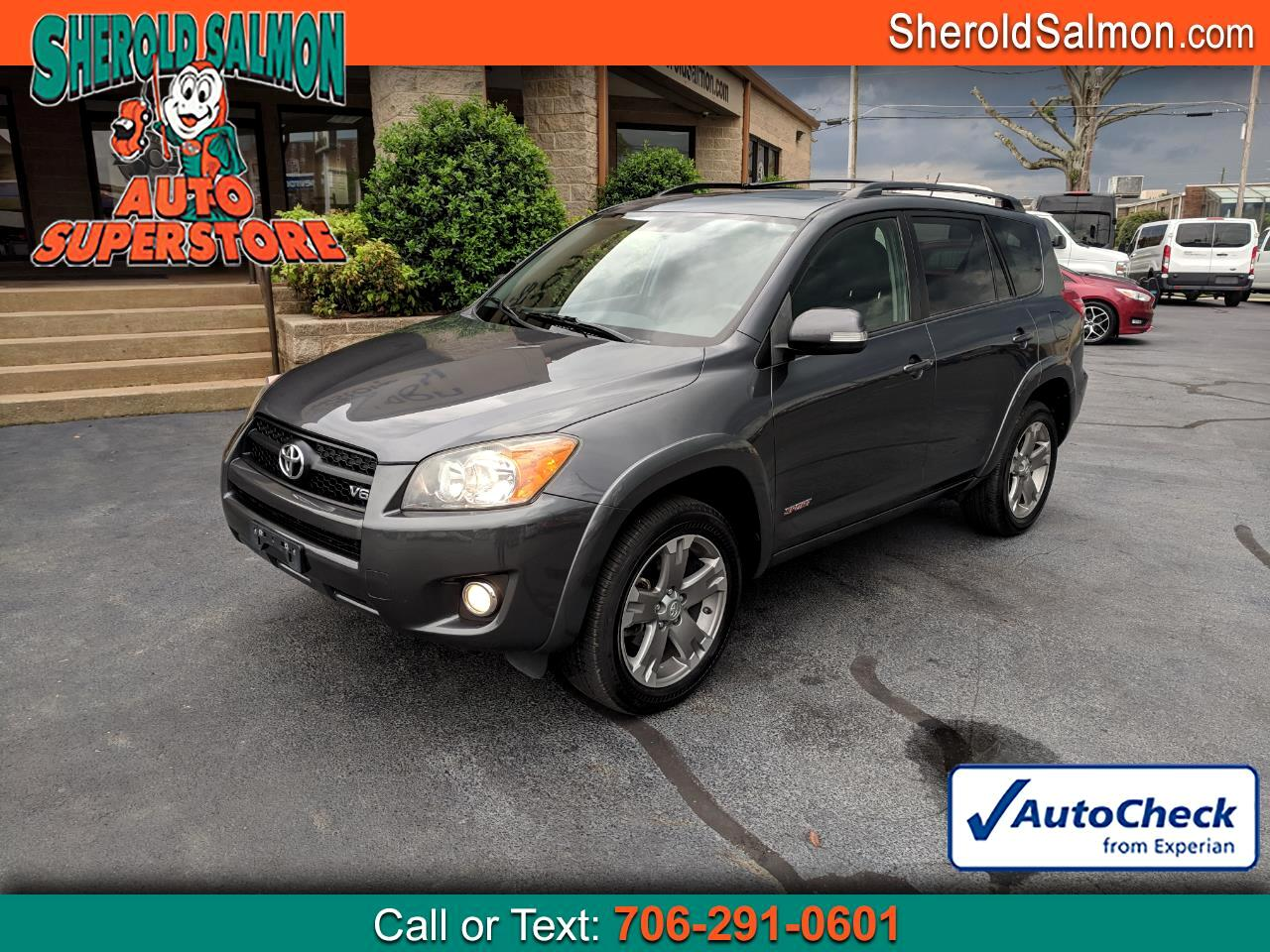 2010 Toyota RAV4 4WD 4dr V6 5-Spd AT Sport (Natl)
