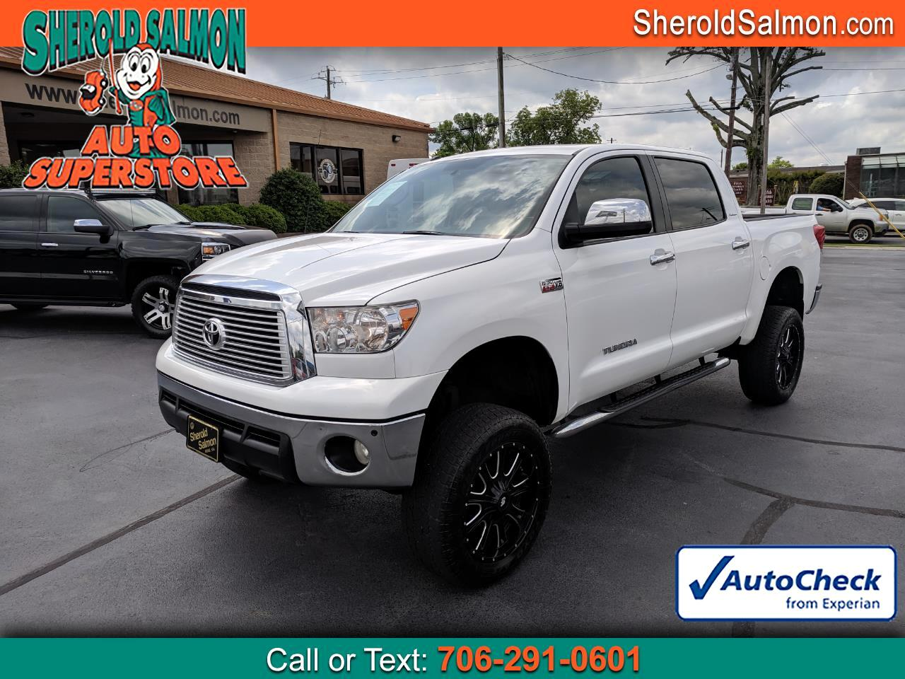 2012 Toyota Tundra 4WD Truck CrewMax 5.7L V8 6-Spd AT LTD (Natl)