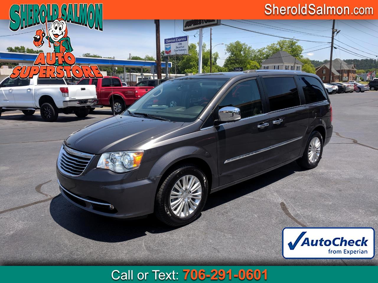 2015 Chrysler Town & Country 4dr Wgn Limited Platinum
