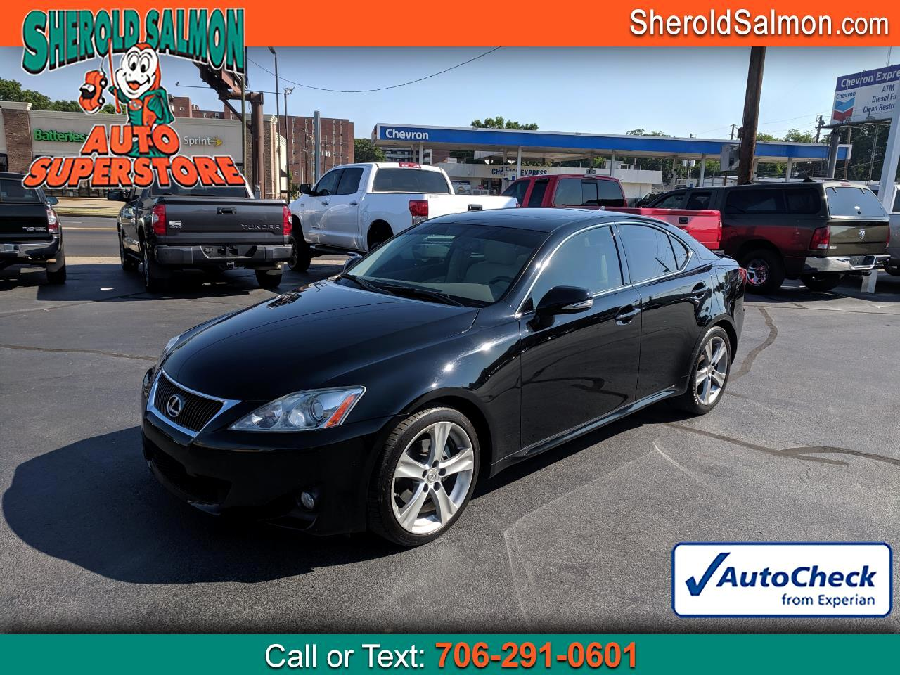 2013 Lexus IS 250 4dr Sport Sdn Auto RWD