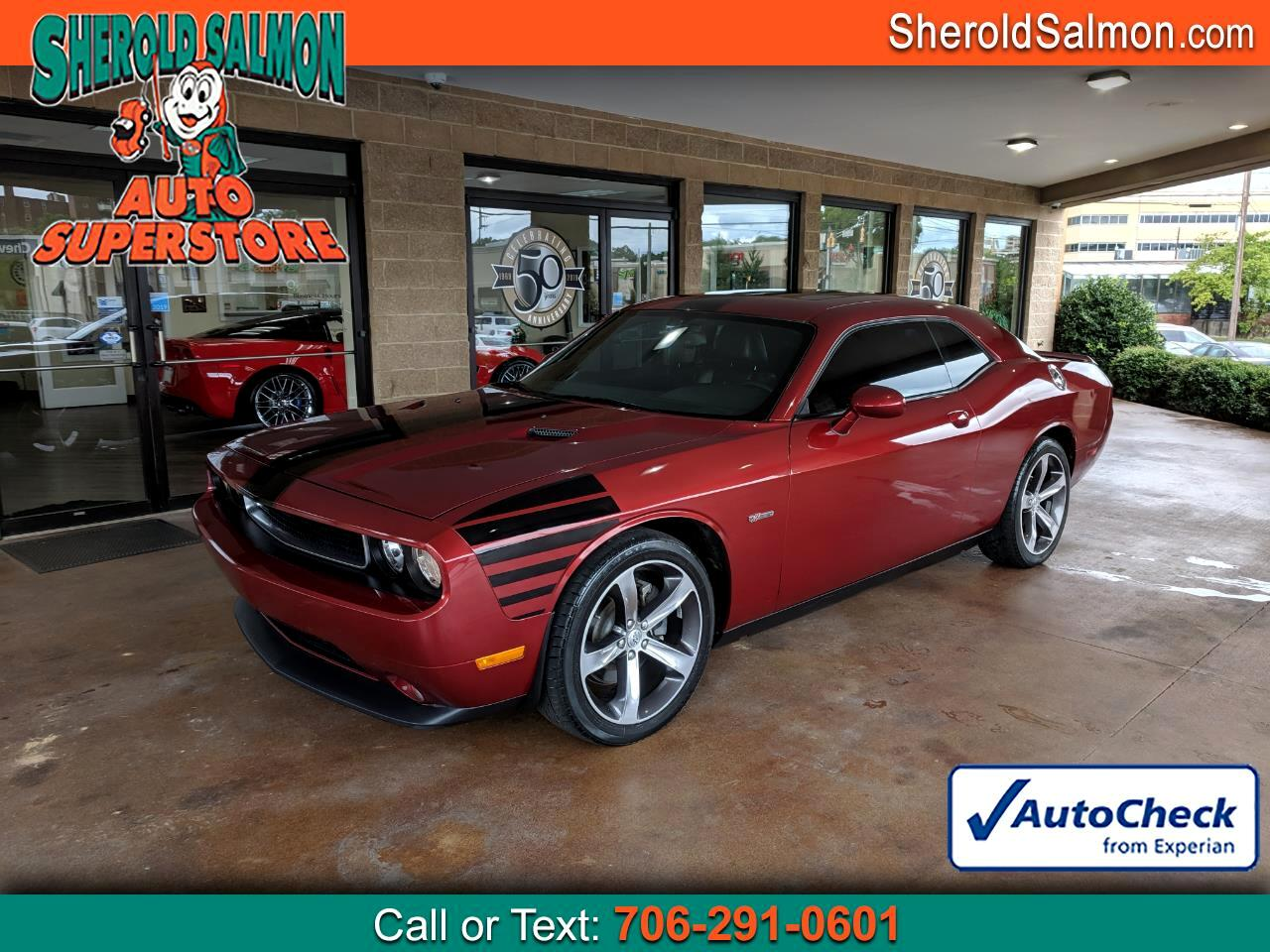2014 Dodge Challenger 2dr Cpe SXT 100th Anniversary Appearance Group