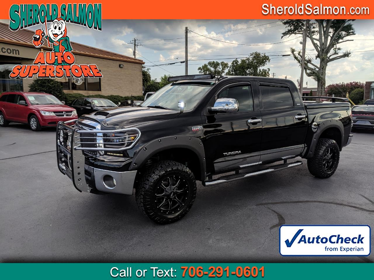 2012 Toyota Tundra 2WD Truck CrewMax 5.7L V8 6-Spd AT  (Natl)