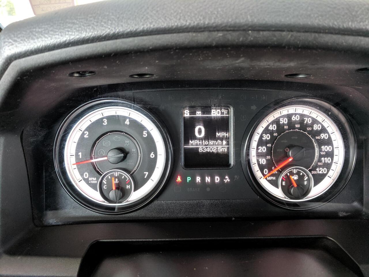 2015 RAM 1500 2WD Quad Cab 140.5