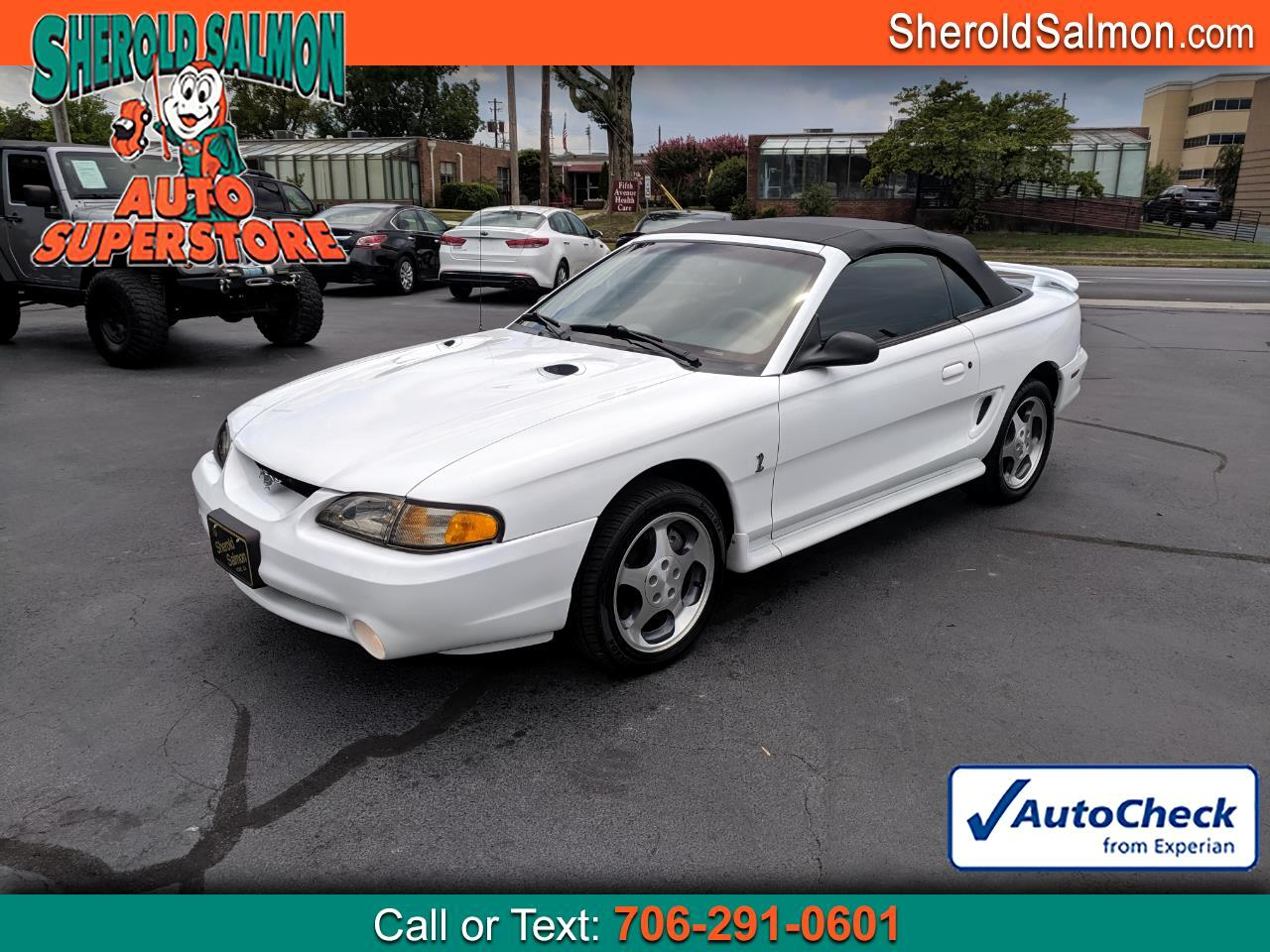 1997 Ford Mustang 2dr Convertible Cobra