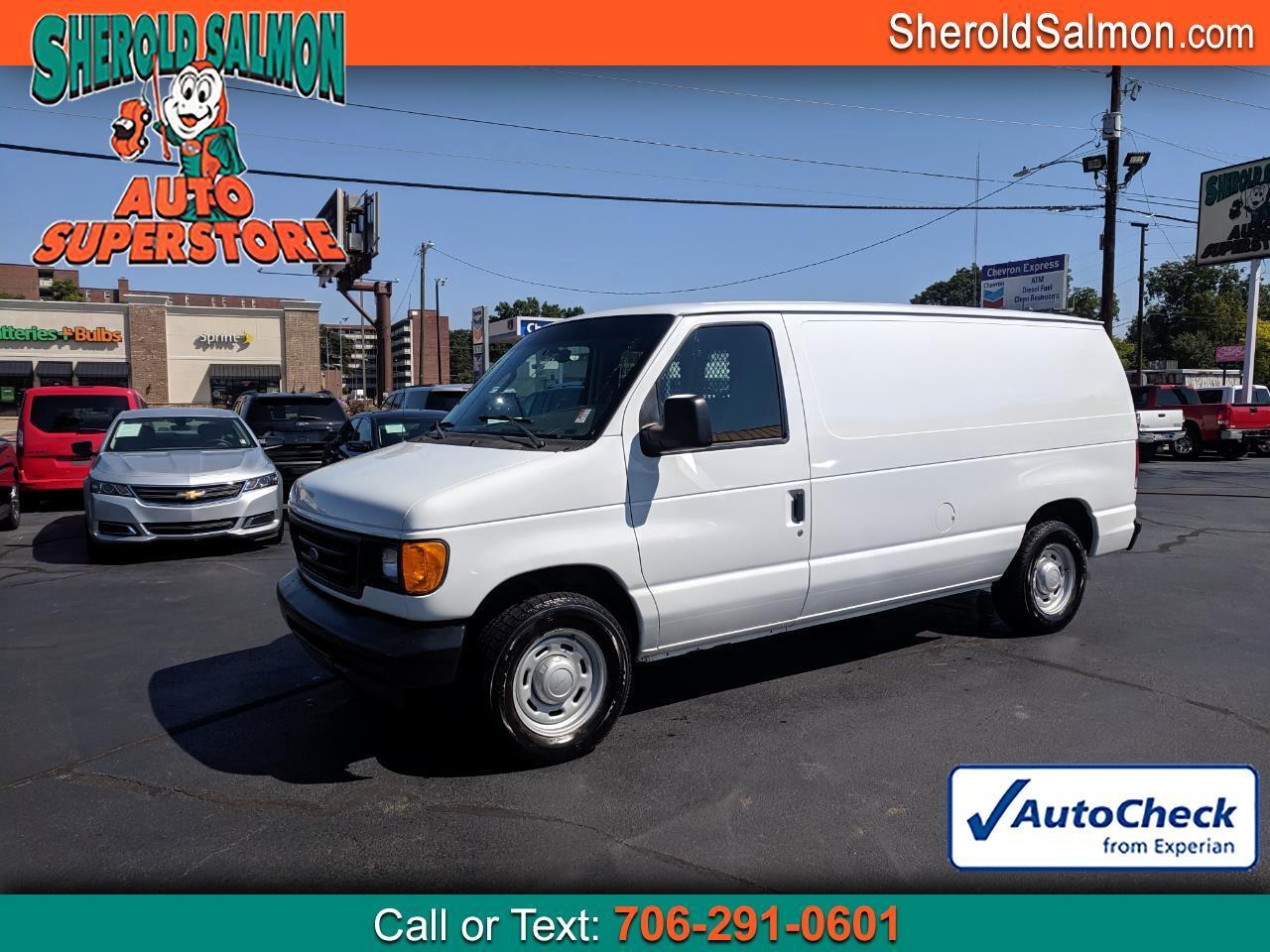 Ford Econoline Cargo Van E-150 2006