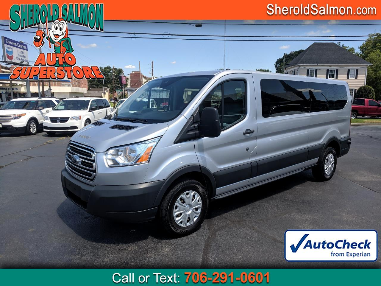 "2016 Ford Transit Wagon T-350 148"" Low Roof XLT Swing-Out RH Dr"