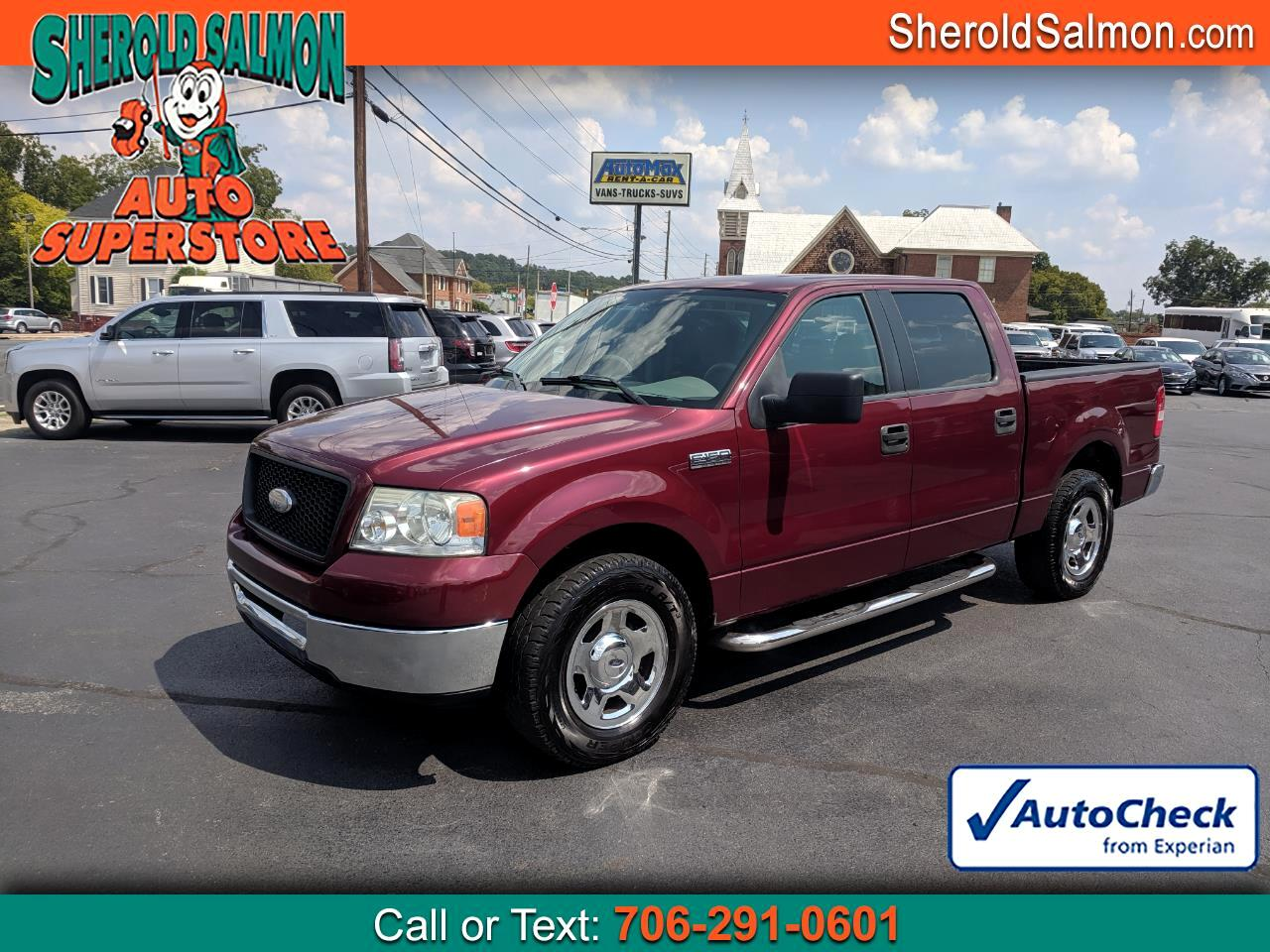 "2006 Ford F-150 SuperCrew 139"" XLT"