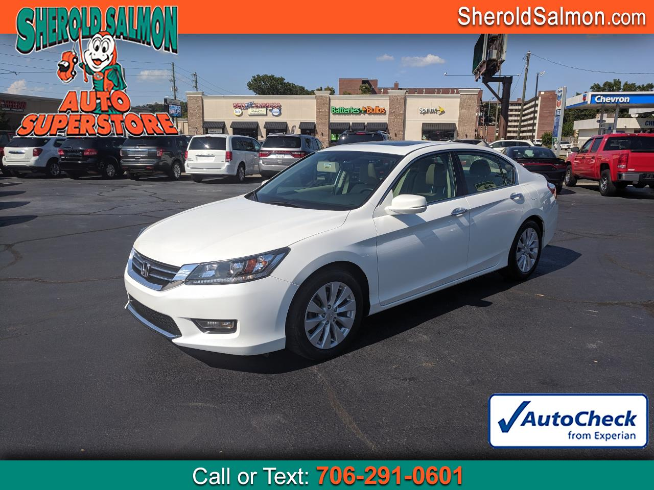 2015 Honda Accord Sedan 4dr I4 CVT EX-L
