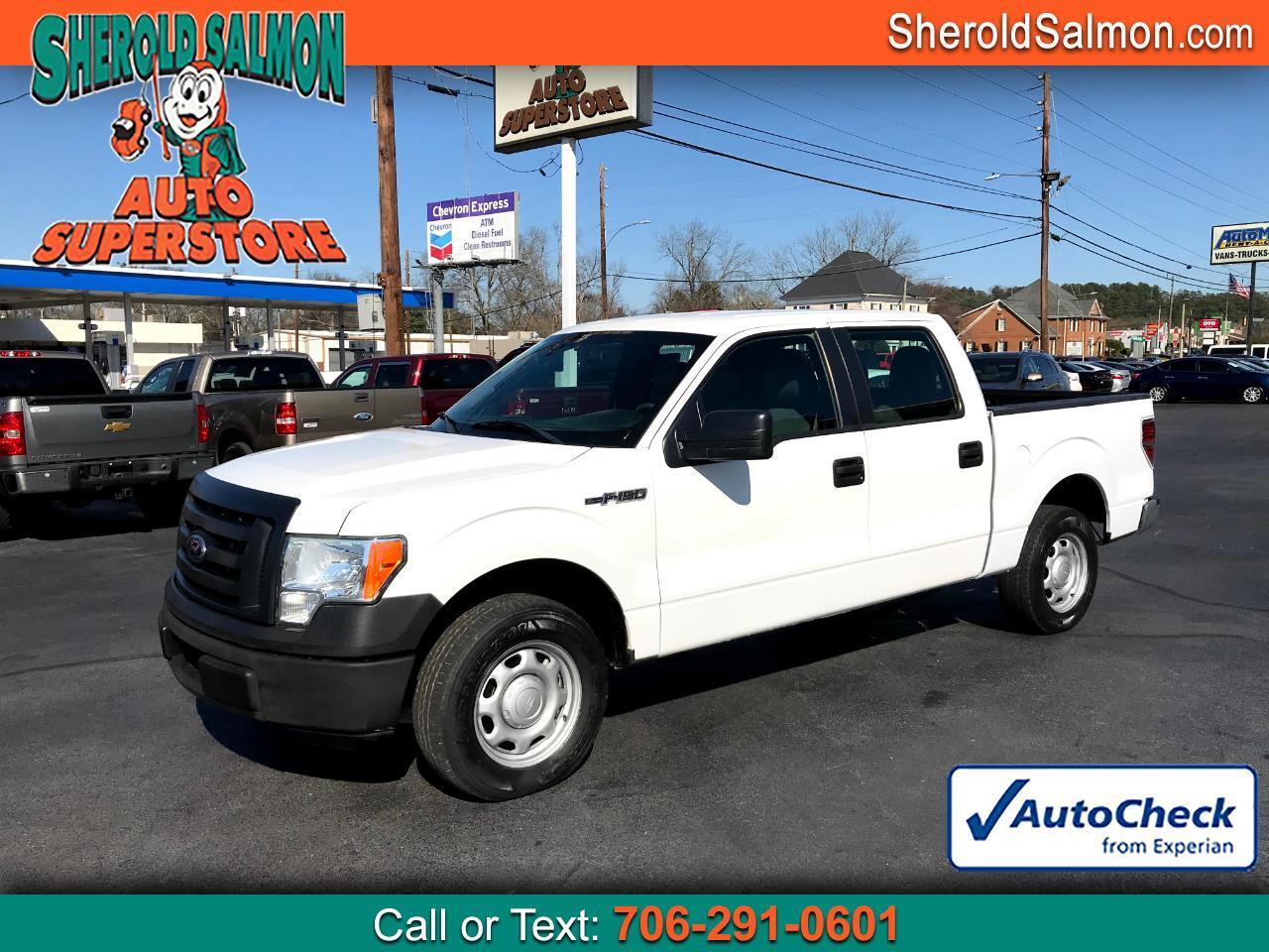 "Ford F-150 2WD SuperCrew 145"" XL 2012"