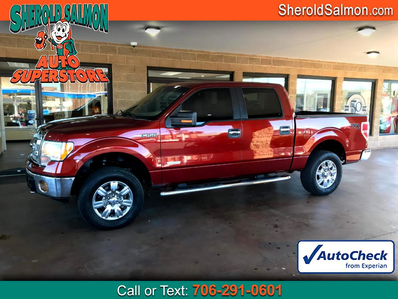 "Ford F-150 4WD SuperCrew 145"" XLT 2014"