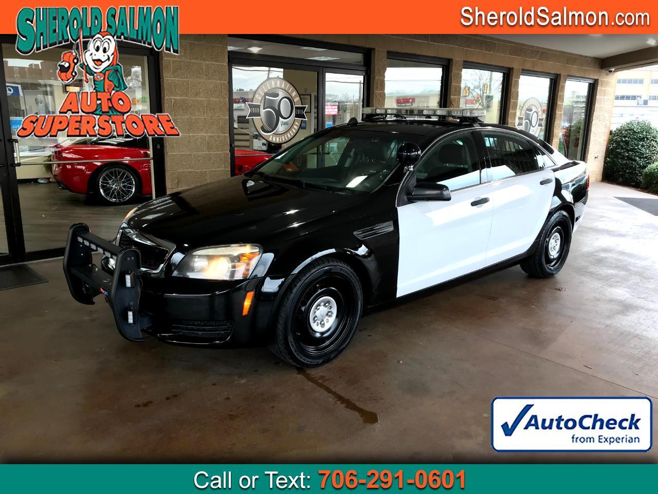 Chevrolet Caprice Police Patrol Vehicle 4dr Sdn Police 2012