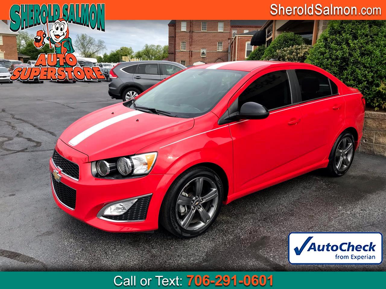 Chevrolet Sonic 4dr Sdn Auto RS 2016