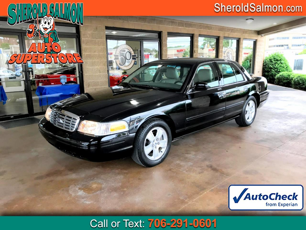 Ford Crown Victoria 4dr Sdn LX 2011