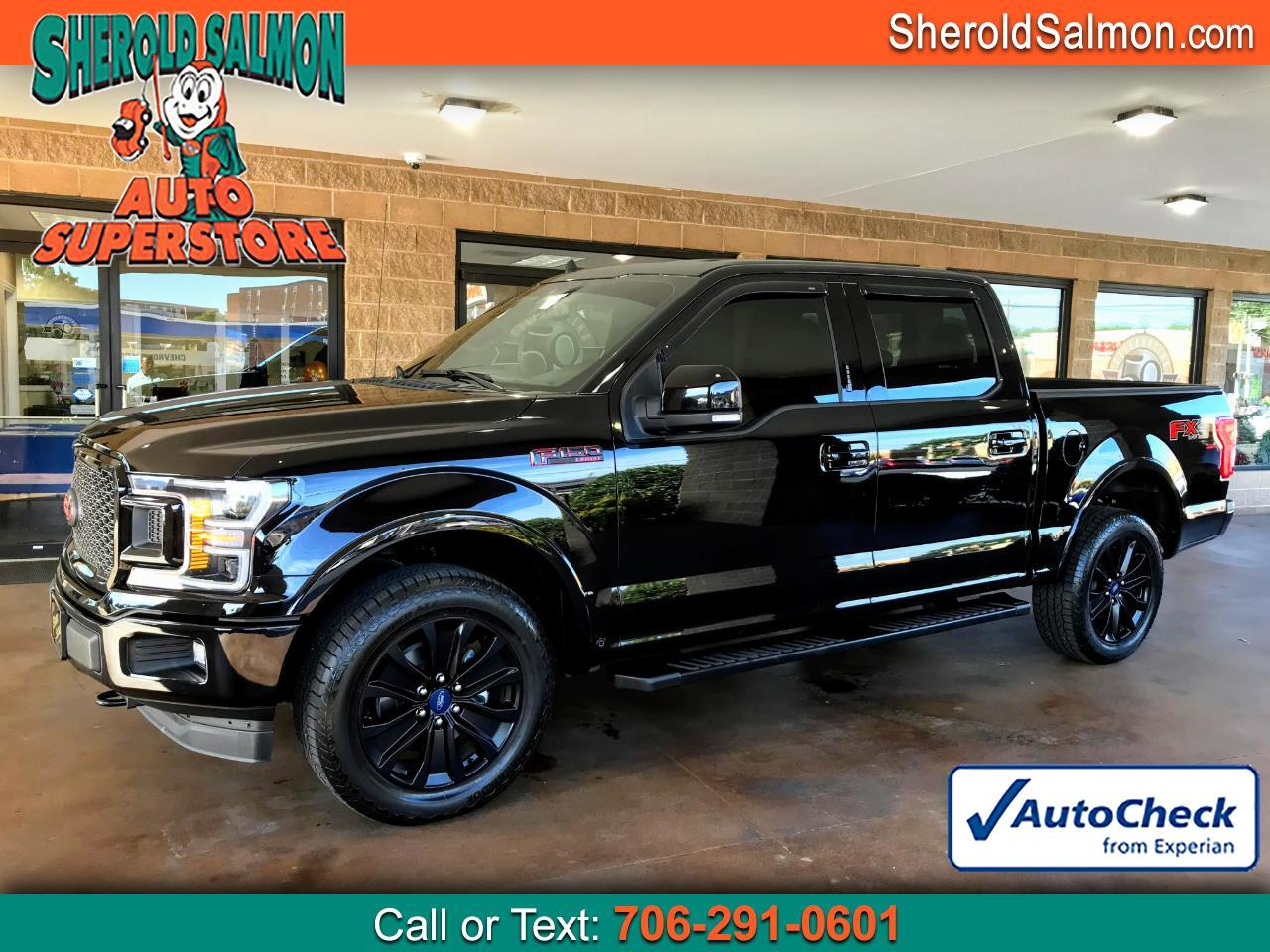 "Ford F-150 4WD SuperCrew 145"" Lariat 2020"