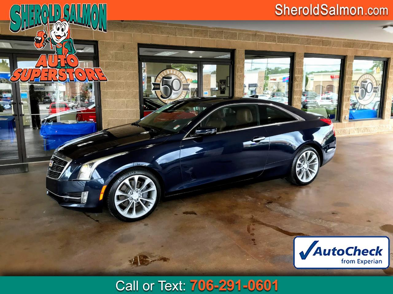 Cadillac ATS Coupe 2dr Cpe 2.0L Performance RWD 2015