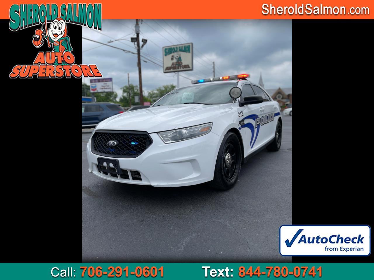 2013 Ford Sedan Police Interceptor 4dr Sdn AWD